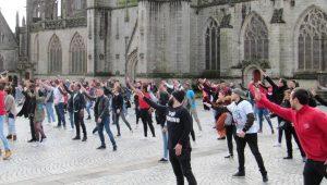 Flash mob Quimper