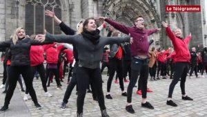 Flashmob à Quimper